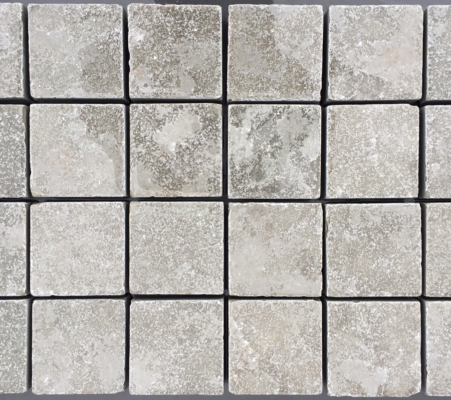 Grey Limestone Cobbles – 100x100x40mm – 10m2 pack