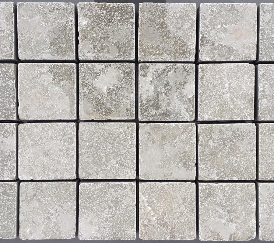 Grey Limestone Cobbles – 100x100x40mm – 10m2 pack