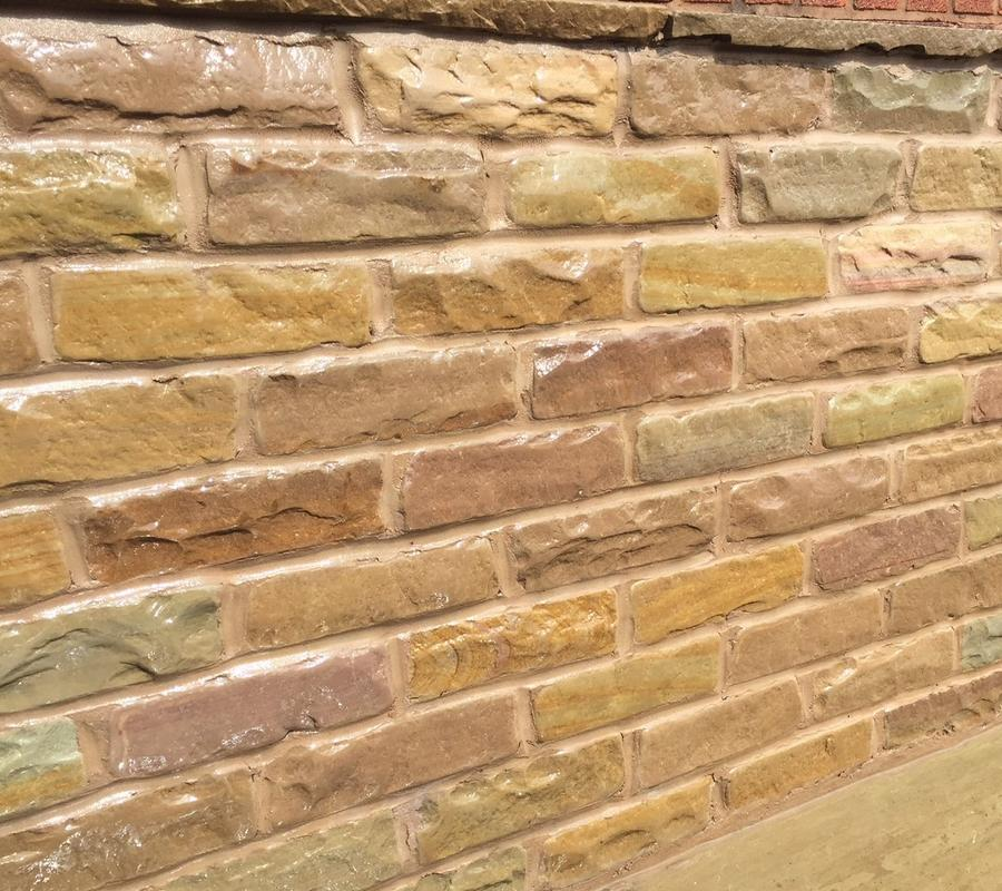 Raj Green Tumbled Walling – 5.24m2 (face) per pack