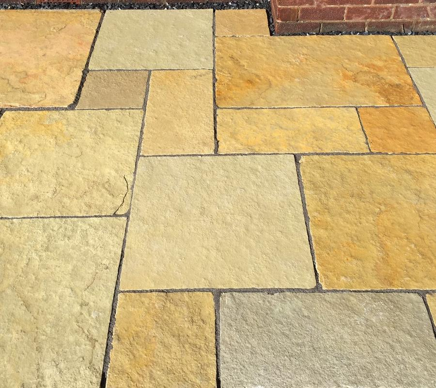 Yellow Limestone – 4 Size / 20m2 Project Pack