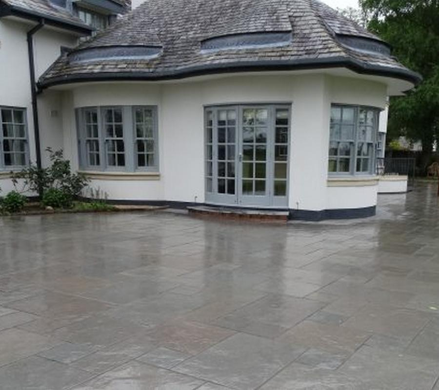 Grey Limestone –  4 Size / 18m2 Project Pack (TUMBLED & BRUSHED)