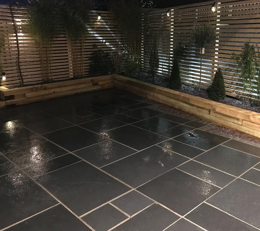 Kota Black Limestone – 4 Size / 20m2 Project Pack