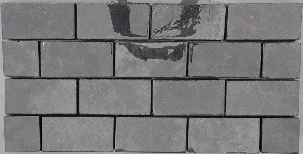Black Limestone Cobbles – 200x100x40mm – 10m2 pack