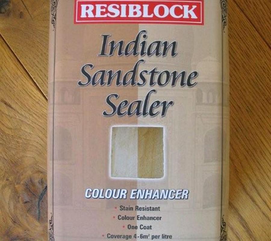 Resiblock Indian Sandstone Sealer – Colour Enhancer 5Ltr